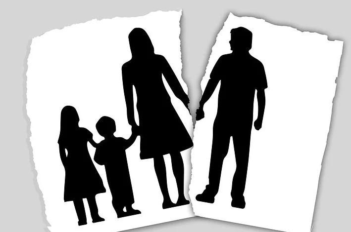 skilsmisse og familie